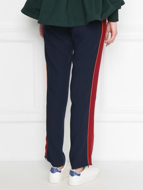 Спортивные брюки на резинке с лампасами - МодельВерхНиз1