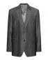 Пиджак из смеси шерсти и льна однобортный Boss  –  Общий вид