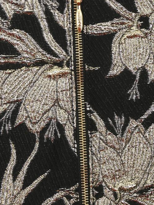 Юбка-миди с вышивкой - Деталь