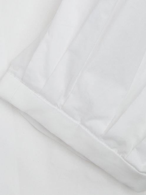 Блуза из хлопка с открытыми плечами - Деталь1