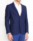 Пиджак из тонкой шерсти Corneliani ID  –  Модель Верх-Низ