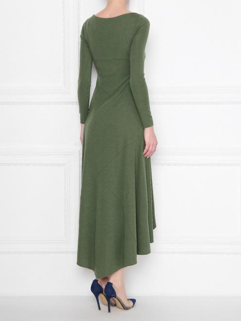 Платье шерстяное - МодельВерхНиз1