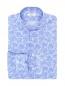 Рубашка из хлопка с узором Belvest  –  Общий вид