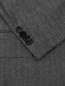 Пиджак из смеси шерсти и льна однобортный Boss  –  Деталь