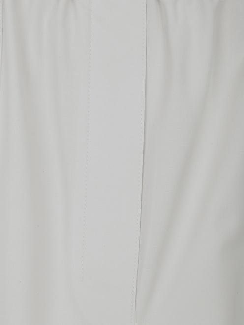 Брюки из шерсти с накладными карманами - Деталь1