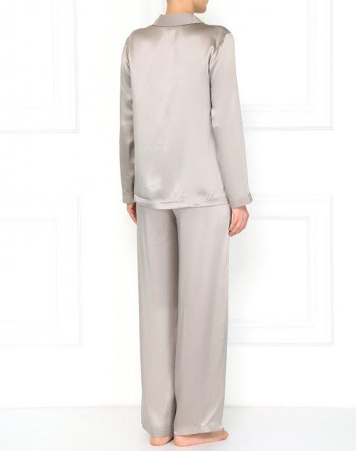 Пижама из шелка - Модель Верх-Низ1