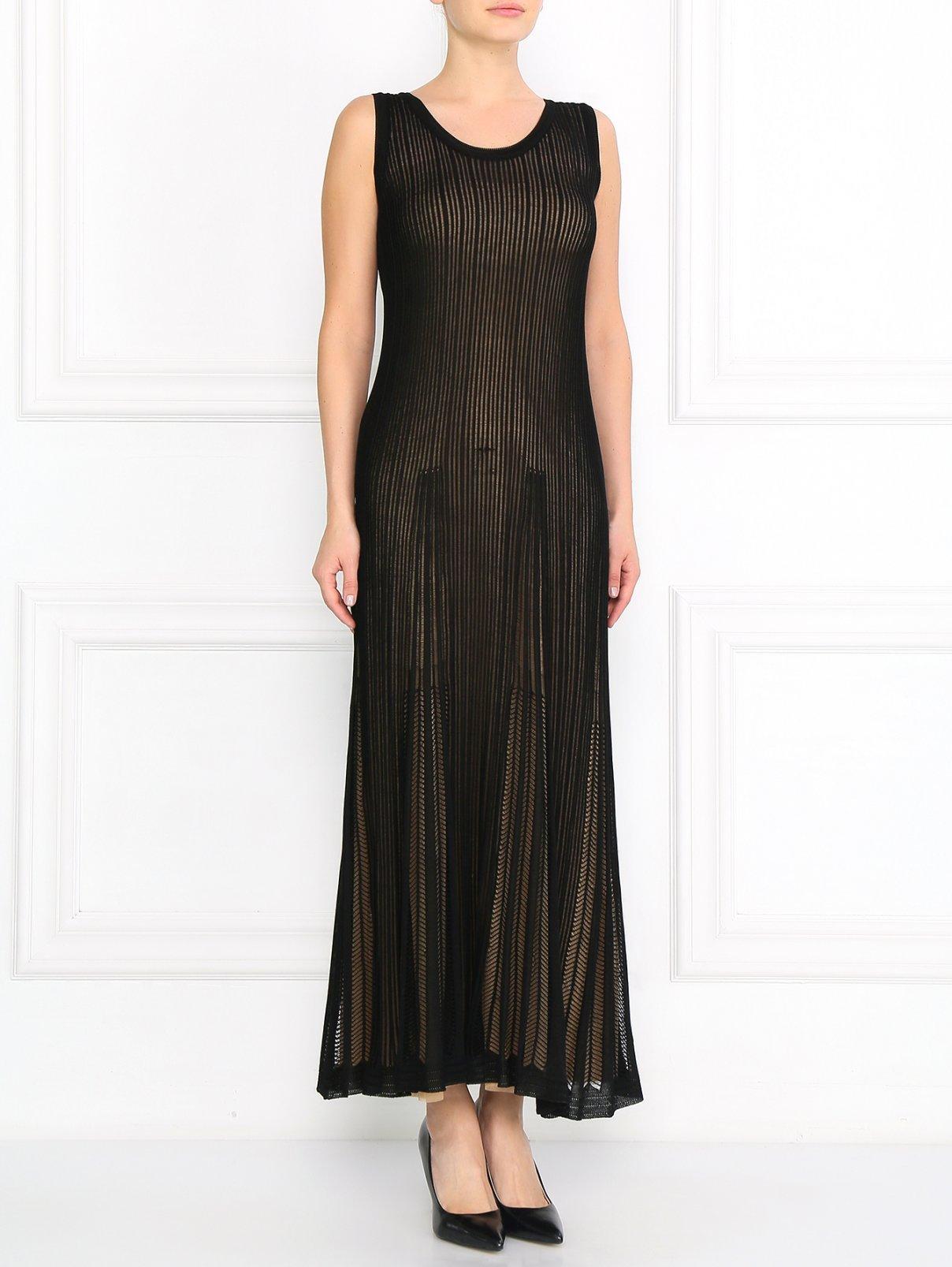 Платье из шелка Alberta Ferretti  –  Модель Общий вид