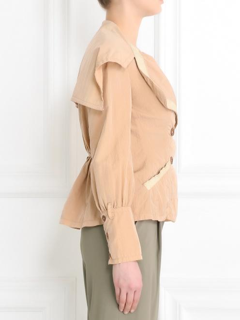 Легкая куртка с карманами  - Модель Верх-Низ2