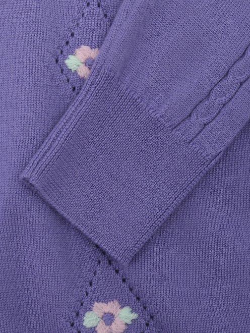 Джемпер из шерсти с вышивкой - Деталь1