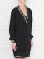 Платье, свободного кроя, с резинкой DESIGNERS REMIX  –  МодельВерхНиз