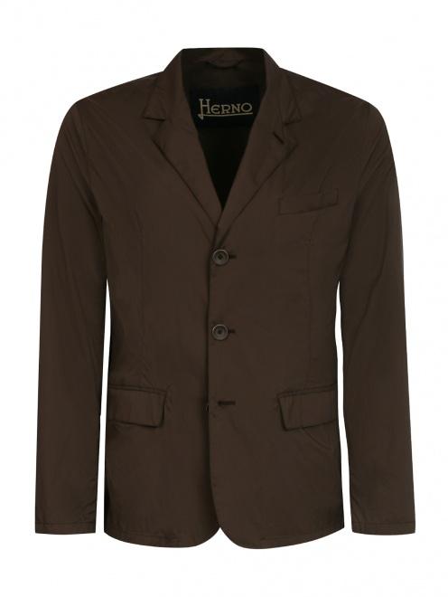 Пиджак из влагоотталкивающей ткани - Общий вид
