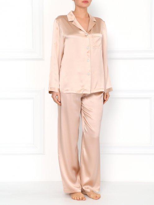 Пижама из шелка - Общий вид