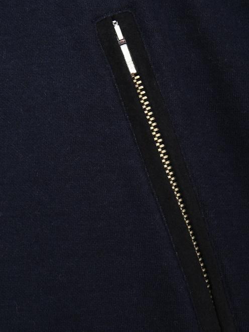 Куртка трикотажная из хлопка - Деталь