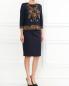 Джемпер из хлопка с вышивкой Alberta Ferretti  –  Модель Общий вид