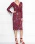 Платье с драпировкой под пояс Max Mara  –  МодельОбщийВид