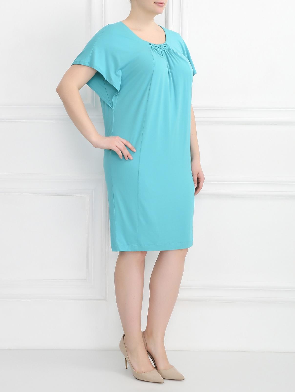 Платье-миди с защипами Marina Sport  –  Модель Общий вид