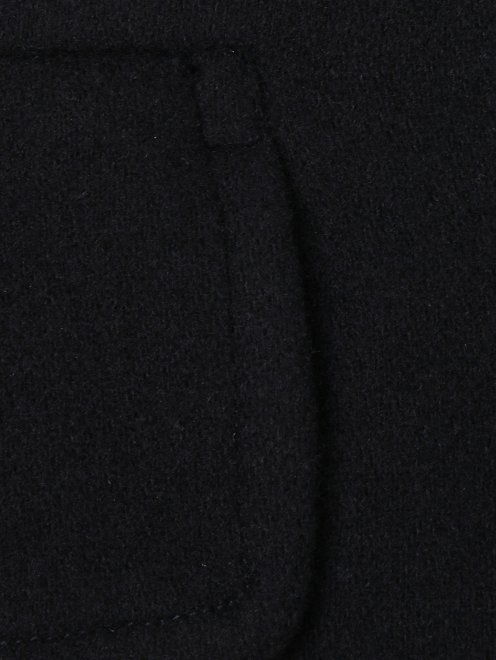 Пальто из шерсти однобортное - Деталь1