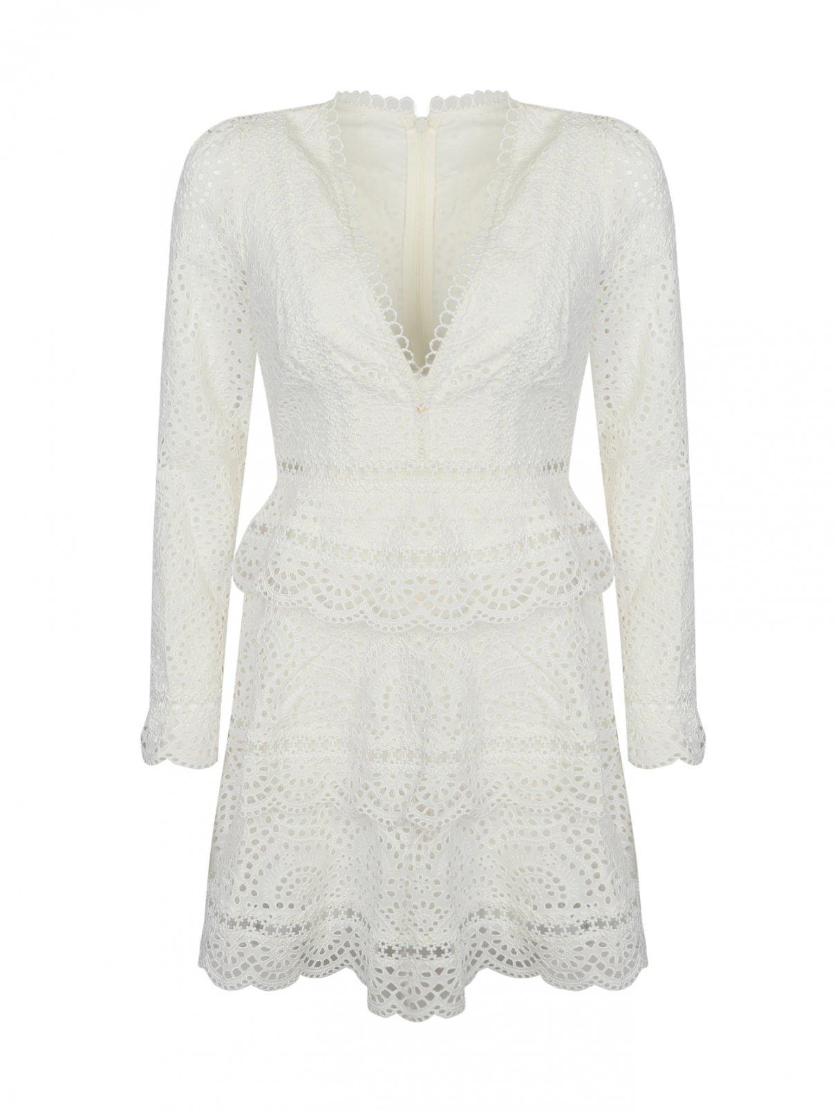 Платье кружевное, из хлопка Zimmermann  –  Общий вид