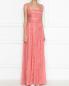 Платье-макси из шелка с кружевной отделкой Zuhair Murad  –  МодельВерхНиз