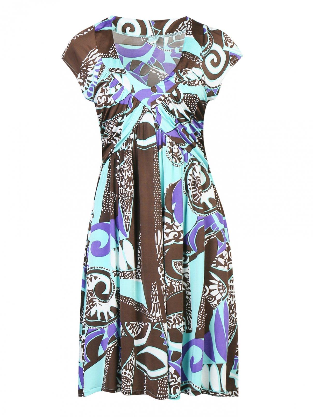 Платье Valery  –  Общий вид  – Цвет:  Узор