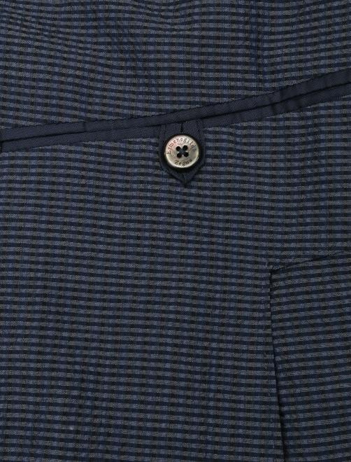 Пиджак однобортный из шерсти и шелка - Деталь2