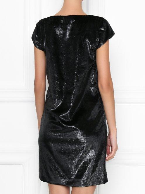 Платье-мини прямого кроя - МодельВерхНиз1