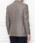 Пиджак из шелка и шерсти Borrelli  –  МодельВерхНиз1