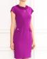 Платье-футляр с декоративной бахромой Moschino Boutique  –  Модель Верх-Низ