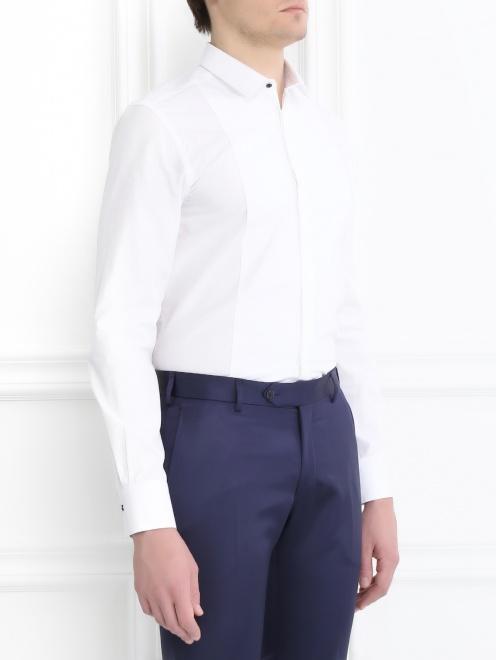 Сорочка из хлопка - Модель Верх-Низ