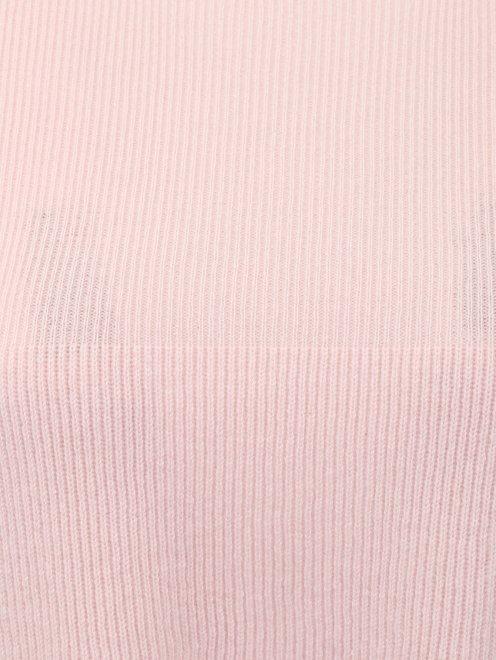 Укороченный джемпер из кашемира - Деталь1