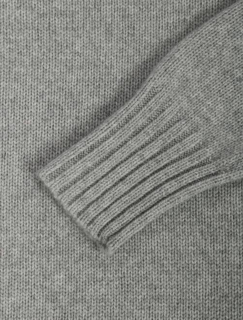 Джемпер из шерсти и кашемира - Деталь