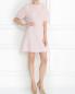 Платье-мини с коротким рукавом и декоративной отделкой Giambattista Valli  –  Модель Общий вид