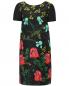 Платье из хлопка с цветочным узором и боковыми карманами Isola Marras  –  Общий вид