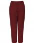Укороченные брюки из хлопка с боковыми карманами Jil Sander  –  Общий вид