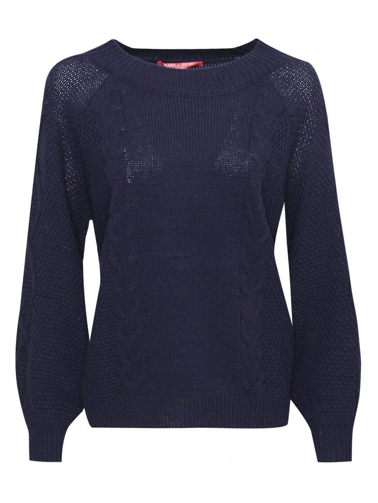 Джемпер из шерсти крупной вязки Marina Rinaldi  –  Общий вид