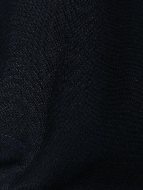 Платье трикотажное с драпировкой - Деталь