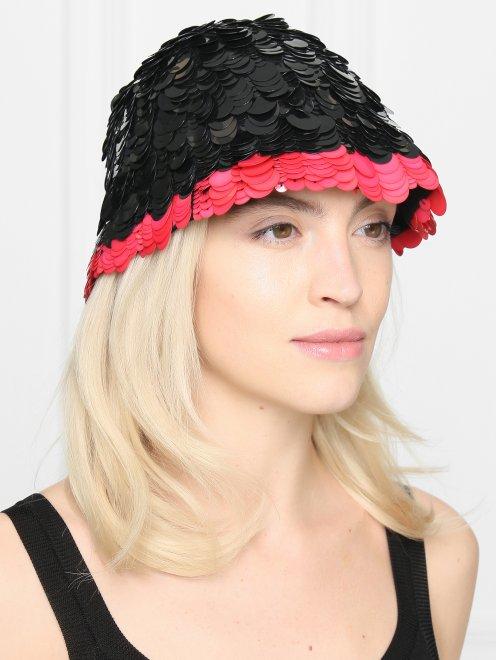 Шляпа с пайетками - Общий вид