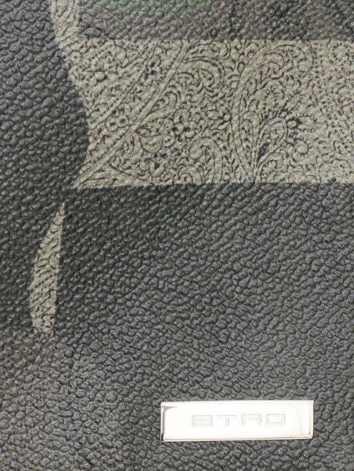 Чехол для IPad из кожи с узором - Деталь